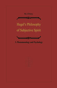Petry, Michael John: Hegel´s Philosophy of Subjective Spirit