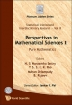 Perspectives In Mathematical Science Ii: Pure Mathematics - N. S. Narasimha Sastry; Delampady Mohan; B. Rajeev