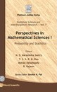 Perspectives In Mathematical Science I: Probability And Statistics - N. S. Narasimha Sastry
