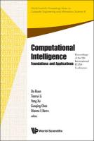 Computational Intelligence: Foundations and Applications, Proceedings of the 9th International Flins Conference