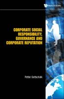 Corporate Social Responsibility, Governance and Corporate Reputation