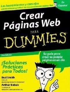 Crear Paginas Web Para Dummies - Smith, Bud Bebak, Arthur