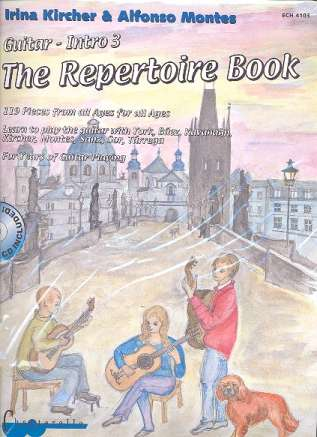 Gitarrenintro Band 3 - The Repertoire Book vol.1 (+CD) - 031102