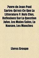 Uvre de Jean-Paul Sartre