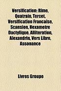 Versification: Rime, Quatrain, Tercet, Versification Franaise, Scansion, Hexamtre Dactylique, Allitration, Alexandrin, Vers Libre, As