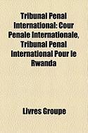 Tribunal Pnal International: Cour Pnale Internationale, Tribunal Pnal International Pour Le Rwanda