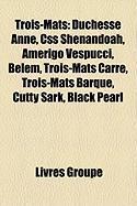Trois-M[ts: Duchesse Anne, CSS Shenandoah, Amerigo Vespucci, Belem, Trois-M[ts Carr, Trois-M[ts Barque, Cutty Sark, Black Pearl