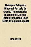 Eixample: Avinguda Diagonal, Passeig de Grcia, Transportation in Eixample, Sagrada Famlia, Casa Mil, Casa Batll, Avinguda Diagon