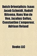Dutch Orientalists: Isaac Jacob Schmidt