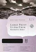 Ultrathin Large Print Reference Bible-KJV
