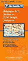 Belgique Sud, Ardenne/Zuid-Belgie, Ardennen (Regional Map)