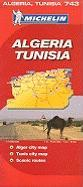 Michelin Algeria, Tunisia (Michelin Maps)