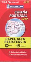 ESPAÑA PORTUGAL ALTA RESISTENCIA 794 MAPA NATIONAL 2010