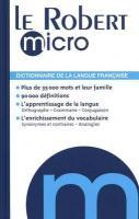 DICTIONNAIRE ROBERT MICRO(9782849026601) (Dictionnaires Generalistes)