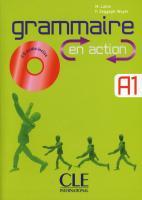 Grammaire en action A1. Buch mit Lösungsheft und Audio-CD
