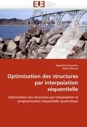Optimisation des structures par interpolation séquentielle