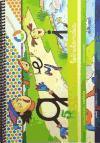 Letrilandia, A tu medida, lectoescritura, Educación Infantil. Cuaderno de escritura 5 (cuadrícula)