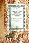 Facsímil: Diccionario bibliográfico-histórico de los antiguos reinos, provincias, ciudades, villas, iglesias y santuarios de España
