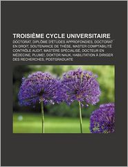 Troisi Me Cycle Universitaire - Source Wikipedia, Livres Groupe (Editor)