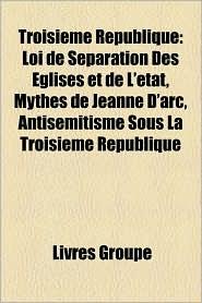 Troisi Me R Publique - Livres Groupe (Editor)
