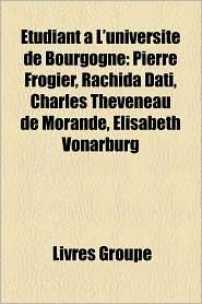 Tudiant L'Universit De Bourgogne - Livres Groupe (Editor)