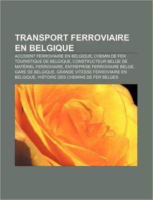 Transport Ferroviaire En Belgique