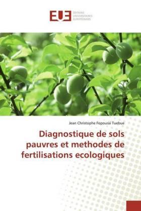 Diagnostique de sols pauvres et methodes de fertilisations ecologiques