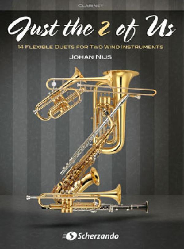 Just the 2 of us : für 2 Blasinstrumente - 035113